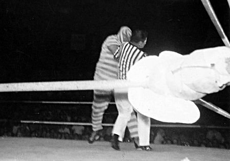 The Convict mixes it up with Pedro Morales
